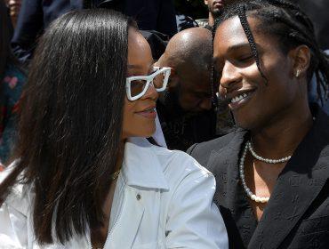 """O rapper A$AP Rocky acaba com dúvidas e entrega romance com Rihanna: """"O amor da minha vida"""""""