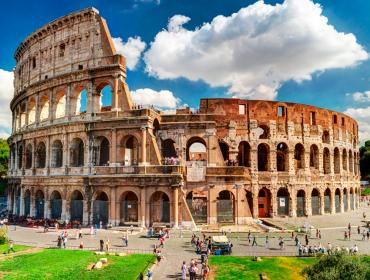 Itália apresenta projeto para reconstruir a arena do Coliseu de Roma. Play para conhecer!