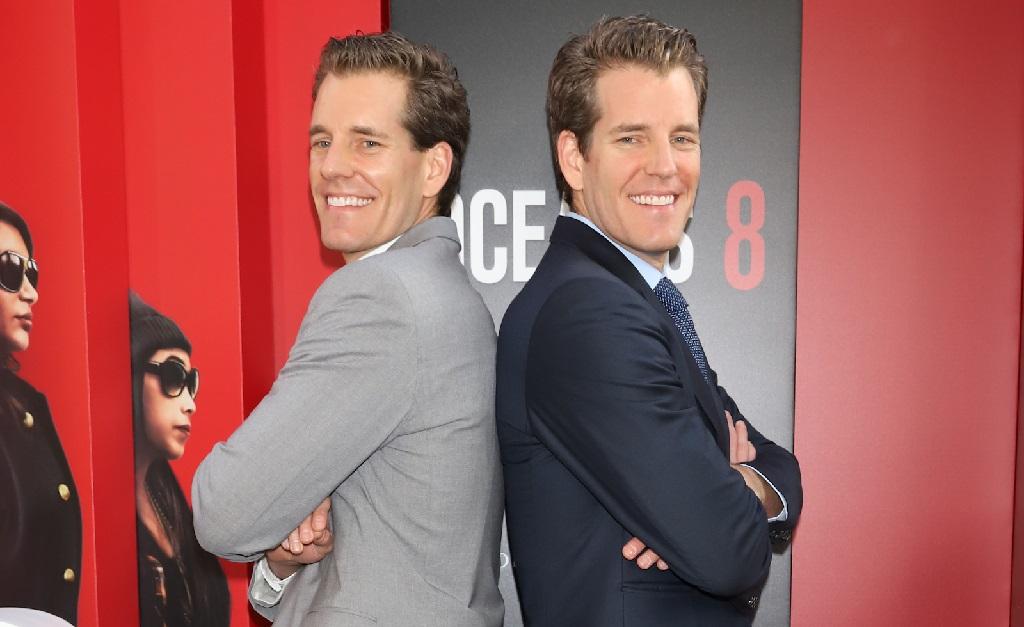 Os gêmeso Tyler e Cameron Winklevoss
