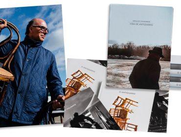 """Arnaldo Danemberg apresenta """"Vida de Antiquário"""", livro duplo que marca seus 40 anos de carreira"""