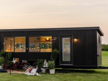 Mini casas com 17 m² trazem o luxo para quem deseja uma vida nômade e sustentável