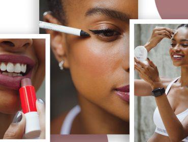 Maquiagem intacta durante e depois do treino, inclusive os aquáticos, é a novidade para tornar a rotina feminina mais prática