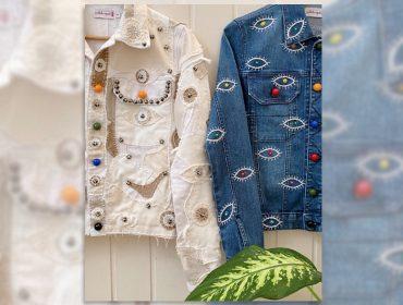 Desejo do dia: as jaquetas jeans estilizadas com o olhar de Isabela Capeto