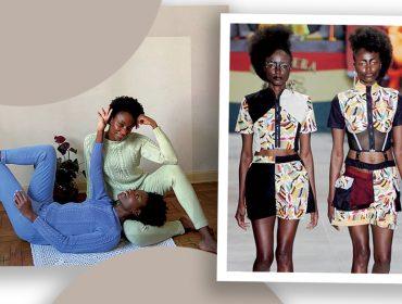 Conheça Yacy Sá e Yara Sá, irmãs gêmeas quilombolas que decidiram virar modelos aos 30 anos