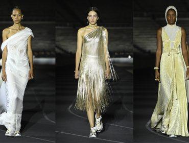 Dior traduz o espírito olímpico em sua coleção Cruise inspirada e desfilada na Grécia
