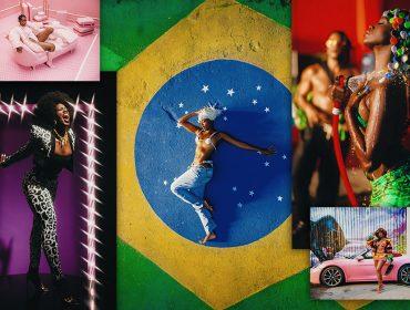 """Iza estampa bandeira do Brasil no clipe de """"Gueto"""" em momento político conturbado: """"Brota ouro de onde eu vim. Os maiores sucessos deste país vêm do gueto"""""""