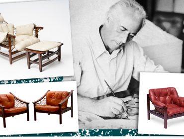Jean Gillon ganha mostra especial no Museu da Casa Brasileira com móveis originais, desenhos e cerâmicas