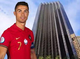 Cristiano Ronaldo quer vender a todo custo apê que comprou em 2015 na Trump Tower