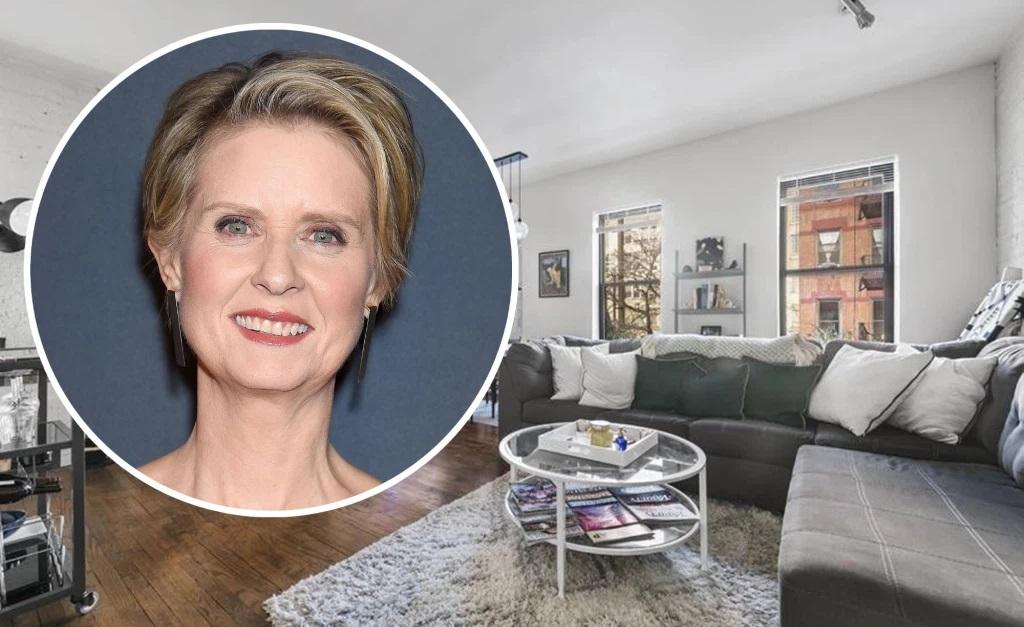 Cynthia Nixon e seu novo endereço em NY