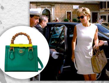Gucci relança bolsa queridinha de Lady Di que virou símbolo de sua libertação pessoal