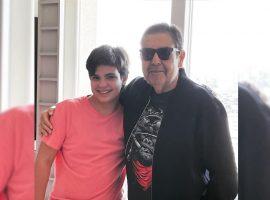 """Luciana Cardoso mostra que o marido Fausto Silva está pronto para voltar ao """"Domingão"""": """"Já está ótimo"""""""