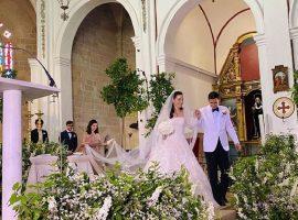 Herdeira da Fendi se casou no fim de semana em cerimônia realizada em igreja medieval de Ibiza