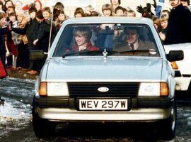 Carro que Charles deu para Diana em 1981 será leiloado com lance mínimo de R$ 277 mil