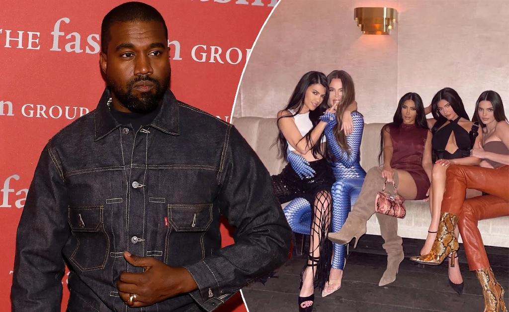 Kanye West e suas ex-cunhadas