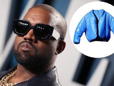O rapper e sua jaqueta vendida pela Gap