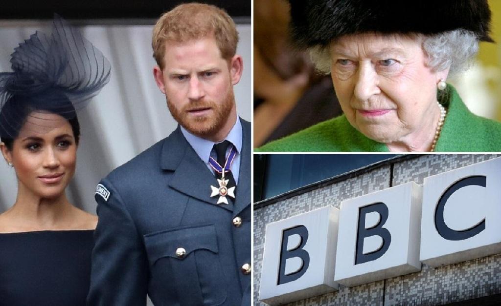 Meghan e Harry, a rainha, e o novo alvo do casal: a BBC
