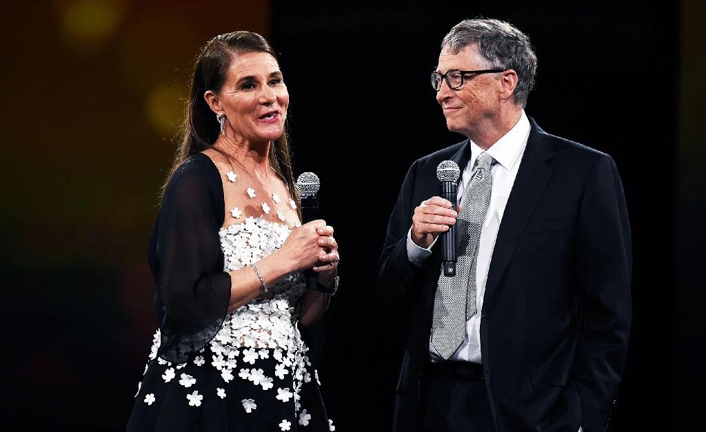 Melinda e Bill Gates