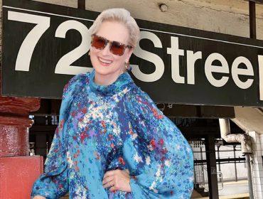 A estrela de Hollywood virou estação de metrô por um dia