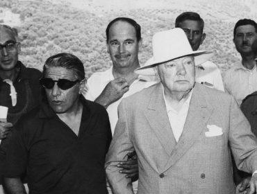 Aristóteles Onassis e Winston Churchill