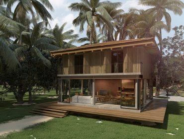 Foi dada a largada às obras de casas que unem lazer e rentabilidade no sul da Bahia. Vem saber mais!