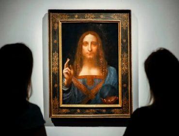 """O quadro """"Salvator Mundi"""", atribuído a Leonardo Da Vinci"""