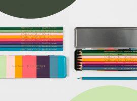 Desejo do Dia: o estojo de lápis de cor da britânica Paul Smith em parceria com Caran d'Ache