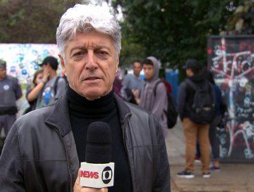 """Caco Barcellos celebra seu retorno às reportagens de rua depois de 14 meses de isolamento: """"Lamentei perder essa riqueza do contato pessoal"""""""