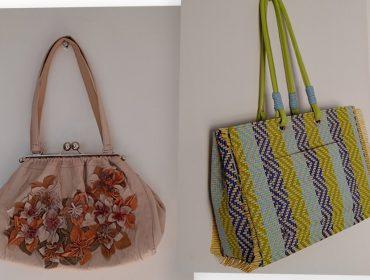 Desejo do dia: as bolsas florais e em palha da dupla criativa Marcos & Rudy