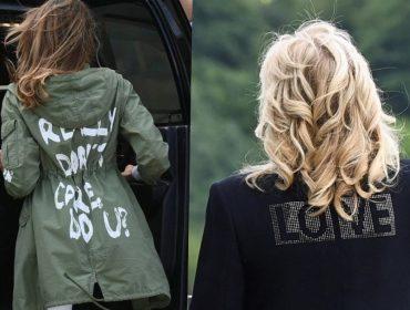 Biden X Trump: Atual primeira-dama dos EUA usa jaqueta com mensagem ao mundo e gera comparação com Melania