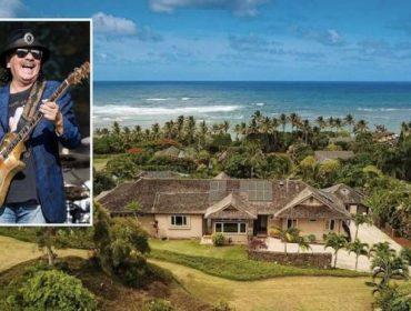 O músico mexicano e seu novo endereço no Havaí