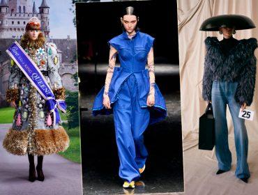 Estética irônica e kistch, ícone pop e jeans ganham espaço nas coleções de alta-costura