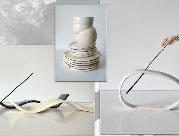 Desejo do dia: as cerâmicas minimalistas do ateliê Camelo, da mineira Clarissa Miranda