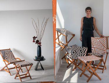 Desejo do dia: As cadeiras e bancos dobráveis da dpot objeto em parceria com a Pelle
