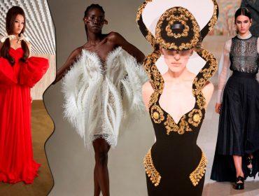 Giambattista Valli, Dior, Iris van Herpen e Schiaparelli… O que foi desfilado no primeiro dia da semana de Haute Couture?