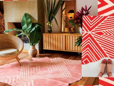 Lá em casa: os tapetes exclusivos, sustentáveis e charmosos da Pellle