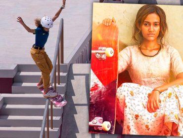 """No embalo da medalhista Rayssa Leal, """"Skater Girl"""" é o longa indiano para refletir sobre a importância do incentivo ao esporte"""