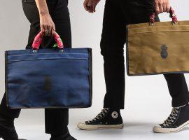 Desejo do dia: as sacolas de lona espaçosas e despojadas da Studio Bergamin