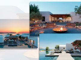 Verão na Grécia: Mykonos ganha hotel no topo de uma montanha que vale incluir nos planos futuros