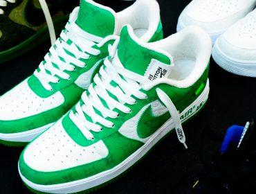 Desejo do dia: os tênis Nike Air Force 1 em parceria com Louis Vuitton
