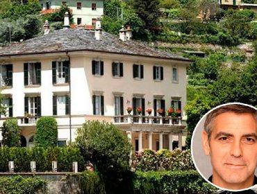 O astro de Hollywood e sua propriedade, conhecida como Villa Oleandra