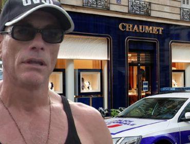 Jean-Claude Van Damme e a Chaumet de Paris