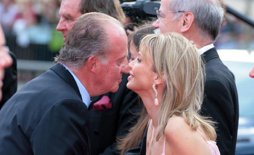Juan Carlos e Corinna Larsen nos tempos em que os dois ainda se entendiam