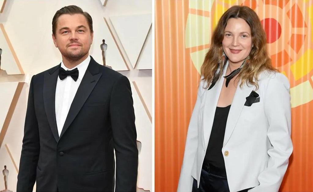 Leonardo DiCaprio e Drew Barrymore