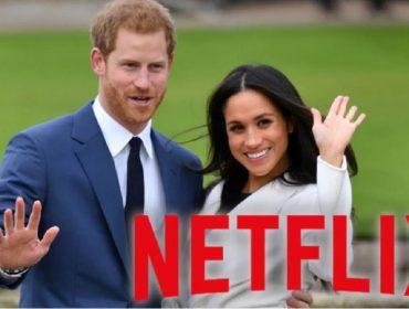 O príncipe Harry e Meghan Markle