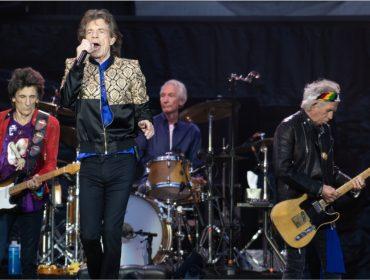 """Os Stones em ação durante show da """"No Filter"""""""