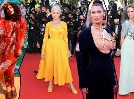 Liderada por Andie MacDowel e Helen Mirren, beleza madura é aclamada no red carpet do Festival de Cannes