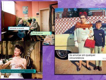 Perfil no Instagram relata com humor e um toque vintage as tragédias pessoais de duas amigas recém-divorciadas. Cool!