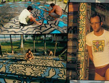"""Refúgio do artista americano Keith Haring em vilarejo na Bahia, que moldou seu trabalho, será mostrado na série """"Geografia da Arte"""""""