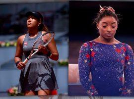 Pressão psicológica vira a maior inimiga das favoritas Naomi Osaka e Simone Biles nas Olimpíadas de Tóquio