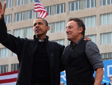 Barack Obama e Bruce Springsteen anunciam publicação de livro com fotos e materiais raros da dupla